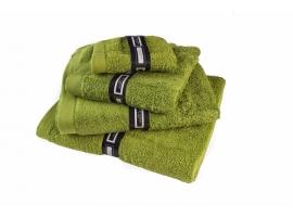"Toalla lisa ""Soft Cotton"" verde"