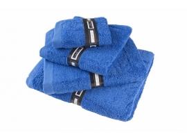"Toalla lisa ""Soft Cotton"" azul"