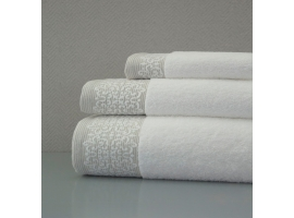 Juego Cenefa Doble Jacquard con relieve